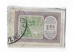 Stamp Argentina 1,26 Pesos -servicio Aereo Sobretasa + 3 Stamps Argentina - Argentina