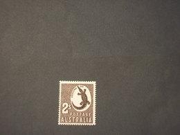 AUSTRALIA - 1956/7 COCCODRILLO 2 S. - NUOVO(++) - 1952-65 Elizabeth II: IEmissione Prima Decimali