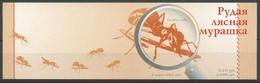 Weißrussland 2002 Rote Waldameise Markenheftchen MH 4 Postfrisch (C28378) - Belarus