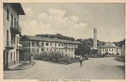 PONZONE BIELLESE - PIAZZA E NUOVO CAMPANILE - Biella