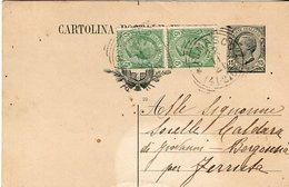 Cartolina Postale Spedita Da Rimasco Loc. Pietre Marce Per Borgosesia Fraz. Ferruta - Formato Piccolo - Italia