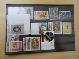 Liechtenstein 2001 Postfrisch Komplett (4337) - Liechtenstein