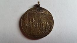1913 Vrijheid 1813 Aankomst Van Prins Willem VI Te Scheveningen ( Medaille) - Pièces écrasées (Elongated Coins)