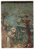Giotto: S.Francesco Predica Agli Uccelli Saint François Preche Aux Oiseaux ( Assisi ) - Santi