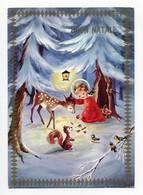 Noel Weihnachten Christmas Jesus Bambi Ecureuil - Non Classificati