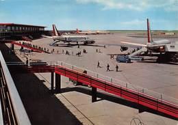 """0568 """"FIUMICINO - AEROPORTO INTERNAZIONALE DI ROMA - LEONARDO DA VINCI."""" CART. ORIG. SPED. 1967 - Aerodromi"""