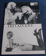 "Kim Basinger, Sophia Loren, Anouk Aimee, Lauren Bacall > ""PRET-A-PORTER"" > Altes NFP-Filmprogramm '1995 (fp620) - Zeitschriften"