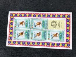 Bhutan UPU 1974 1ch Sheetlet Mint - Bhután