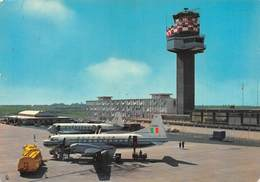 """0568 """"FIUMICINO - AEROPORTO INTERNAZIONALE DI ROMA - LEONARDO DA VINCI."""" CART. ORIG. SPED. 1963 - Aerodromi"""
