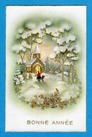 Bonne Annee Prosit Neujahr Happy New Year  Cloche Paysage - Anno Nuovo