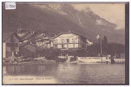 ST GINGOLPH - HOTEL DE FRANCE - TB - VS Valais