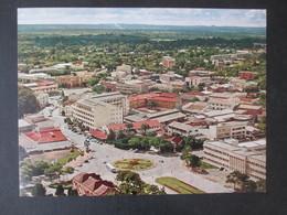 CARTE POSTALE KATANGA 1961 (V1909) FDC? 66/68 (2 Vues) ELISABETHVILLE VUE AéRIENNE 12/07/1961 - República Del Congo (1960-64)