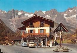 "0569 ""COURMAYEUR - S.A.C.L.A.T - TORINO STAZIONE RIFORNIMENTO CARBURANTI AQUILA CHALET K2"" CART. ORIG. SPED. 1961 - Italie"