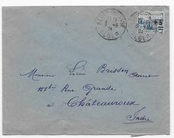 A78 Lettre Orphelins N° 165 En Algérie (3-6-1924) RARE - Algerien (1924-1962)