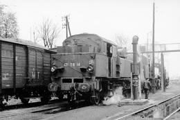 Dépôt De Nogent-Vincennes. Locomotive 131 TB 14. Cliché Jacques Bazin. 13-04-1957 - Trains