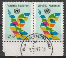 Vienna - Ufficio Delle Nazioni Unite 1980 - Simboli Dell'ONU - Colombe Della Pace - Centre International De Vienne