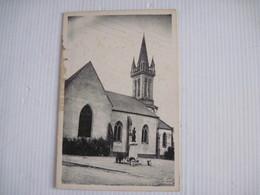 CPSM 56  BEIGNON L'Eglise De 1539 Avec Vitraux De L'époque   TBE Tache - Altri Comuni