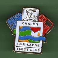 TAROT *** CLUB CHALON SUR SAONE *** 1017 - Jeux