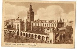 S7571 - Krakau, Adolf Hitler-Platz Und Tchhalle - Pologne