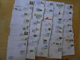 Bund 100 Sonderstempel Belege Alle € Zeit (7516) - [7] Federal Republic