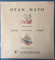 France Programme Officiel De L'émision De L'OTAN Du N°1228 50fr, - Non Classificati