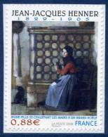 0223  Oeuvre De Jean-Jacques Henner (4286) Neuf **  2008 Adhésif + - France