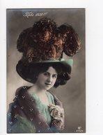133 - MODE - 1909 - Jolie Dame Coiffée D'un Chapeau Excentrique - Mode