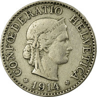 Monnaie, Suisse, 10 Rappen, 1914, Bern, TTB, Copper-nickel, KM:27 - Suisse