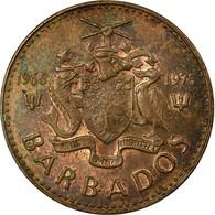 Monnaie, Barbados, Cent, 1976, Franklin Mint, TTB, Bronze, KM:19 - Barbados (Barbuda)