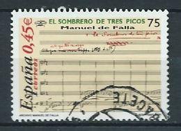 SPANIEN ESPAGNE SPAIN ESPAÑA 2001 SOMBRERO TRES PICO SONG 75 PTAS ED 3838 YV 3393 MI 3673 SG 3791 SC 3125 - 1931-Hoy: 2ª República - ... Juan Carlos I
