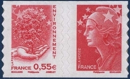 0177 + 0175  Arbre Et Main (rouge) - Marianne De Beaujard (4199 Et 4197) Neufs ** 2008 + - France