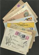 Lot De Lettres & Enveloppes Diverses - France