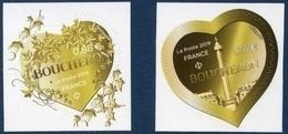 17??  Paire De St Valentin  - Coeurs De Boucheron 20 Et 100 Grs L. Verte Neuf  ** PRO 2019 + - France
