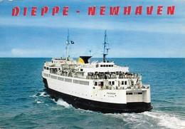 76 Dieppe Le Valençay (2 Scans) - Ferries