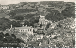 PC00375 Old Hastings From West Hill. Norman Postcard - Postcards