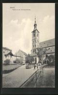 AK Mainz, Partie An Der Emmeranskirche - Mainz