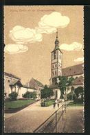 AK Mainz, Strassenpartie An Der Emmeranskirche - Mainz