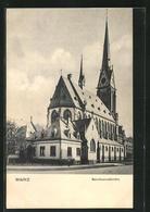 AK Mainz, Totalansicht Der Bonifaziuskirche - Mainz