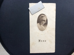 MENU DINER  HOTEL DU PAVILLON Auray  NOVEMBRE 1927 - Menus