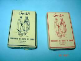 Heraclio Fournier VITORIA . 2x BARAJAS CARTE A  JOUER  RAFIK   .NAIPES . ESPANA . SPAIN - Cartes à Jouer Classiques