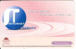 PHILIPPINES - Systech Telecom Internet Prepaid Card, Used - Filippine
