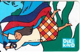 PHILIPPINES - Digitel Prepaid Card P 75, Used - Filippijnen