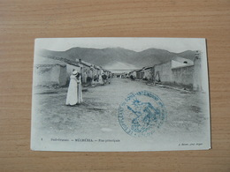 CP51/ ALGERIE  MECHERIA RUE PRINCIPALE / CARTE VOYAGEE - Algeria