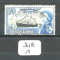 SIE YT 210 En Obl - Sierra Leone (1961-...)