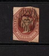 GB Victoria Embossed 10d Brown Spacefiller - 1840-1901 (Victoria)