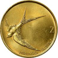Monnaie, Slovénie, 2 Tolarja, 1992, TTB, Nickel-brass, KM:5 - Slovenia