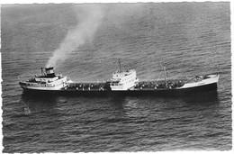 Compagnie Auxiliaire De Navigation S/s Cybele (2 Scans) - Tankers