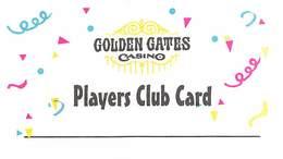 Golden Gates Casino Black Hawk CO BLANK Paper Slot Card   ....[RSC]..... - Casinokarten