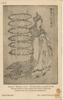 PC05475 British Museum. Hokusai. Mangwa. 1927 - Cartoline