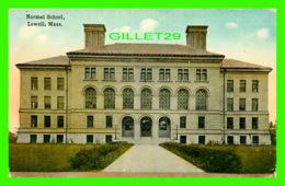 LOWELL, MA - NORMAL SCHOOL - TICHNER BROS INC - TRAVEL IN 1914 - - Etats-Unis